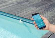 Piscine et application Iphone